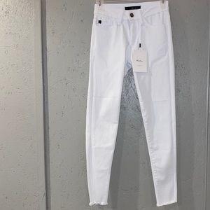 NWT Kancan White Jeans